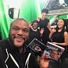 """Tyler Perry, Cassi Davis, Demetria McKinney and China Anne McClain on set of""""The Paynes"""" - February 2, 2017"""