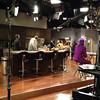 Demetria McKinney & the cast on set of the 'Rickey Smiley Show' on set on April 25, 2013