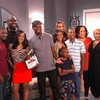 Roger Bobb & the cast of the 'Rickey Smiley Show'