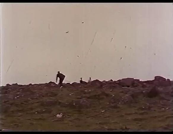 Kvikmynd frá 1. teig á Grafarholtsvelli 1963
