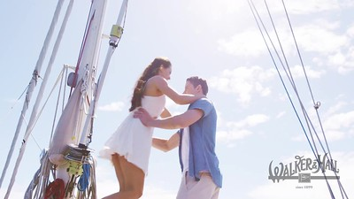 TV COMMERCIAL on Sailing Boat