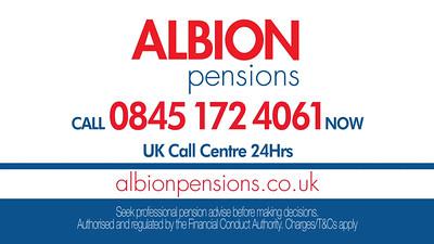 Albion Pensions DRTV campaign