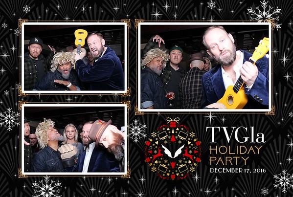 TVGla Holiday Party 2016