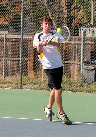 TVHS Boy's Tennis vs Mountain View Sept. 22, 2016