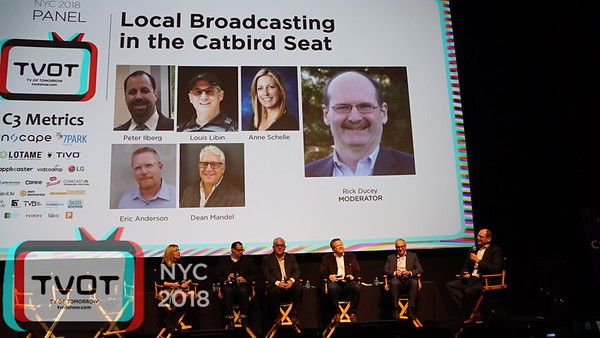 Local Broadcasting in the Catbird Seat