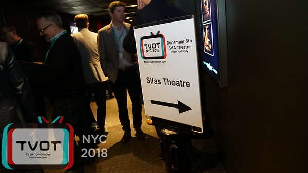 TVOT NYC 2018 - Signage for Show and Marquee