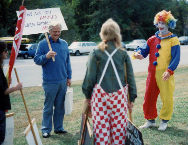 Great American Circus Durham Protest (unknown date) {Courtney Aman}