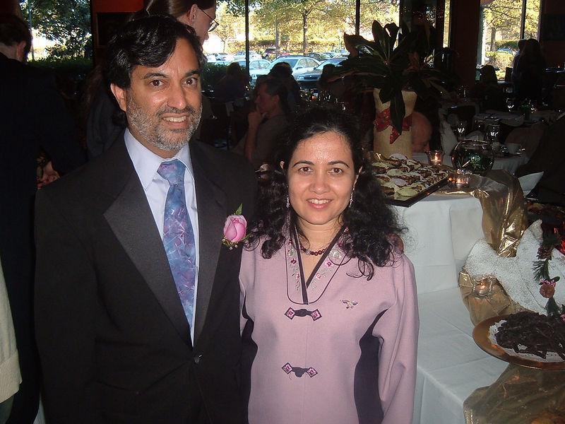 Dilip and Sangeeta [by Eleni Vlachos]