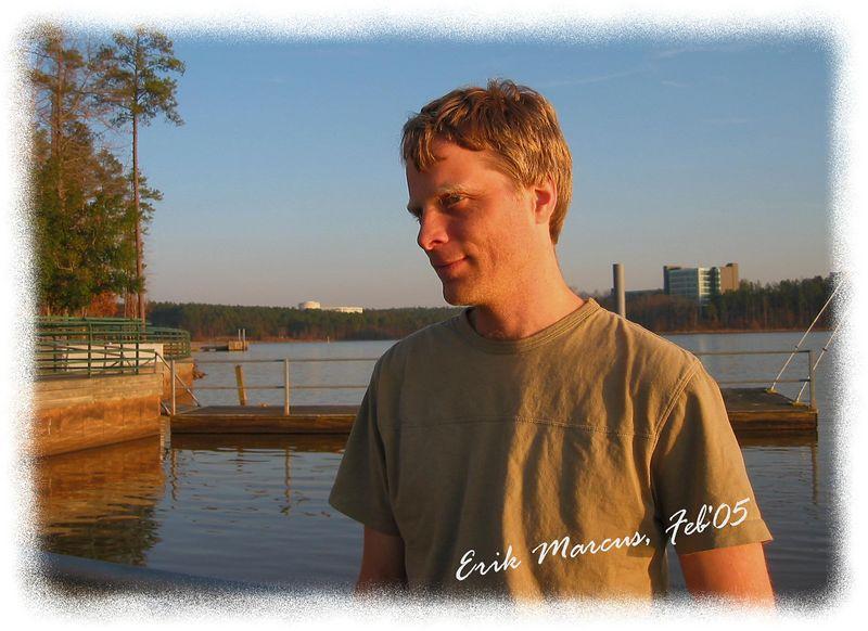 00aFavorite Erik at Lake Crabtree, Morrisville, NC [edgefade09 frame, text]