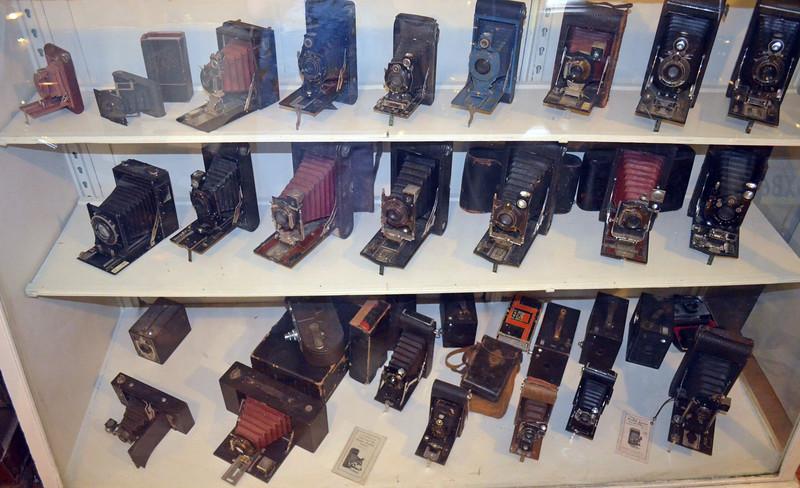 Case of Early Kodak Folding Cameras
