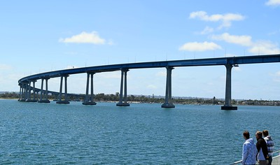 Coronado Bridge Curve