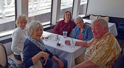 Ginny Berlin, Judy & Martin Sandman, Joan & Carol McGeachy