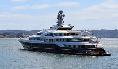 Attessa IV, a Mega Yacht from England