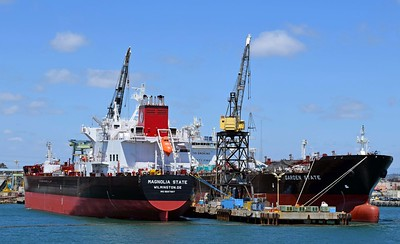 New Oil Tankers near Completion