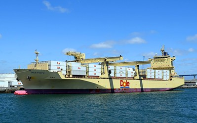 Dole Pineapple Cargo Ship