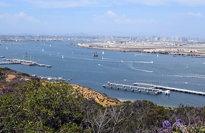 View of San Diego from Point Loma