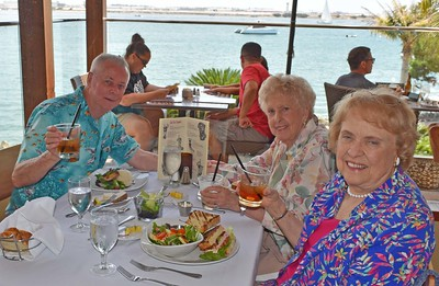 Great Lunch at Bali Hai on Shelter Island
