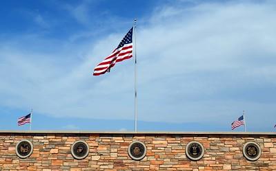 US Flag at Miramar National Cemetery