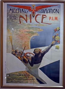 Only Known Poster from Nice, France 1910