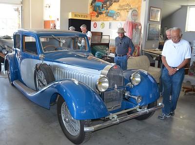 1938 Bugatti Touring Car