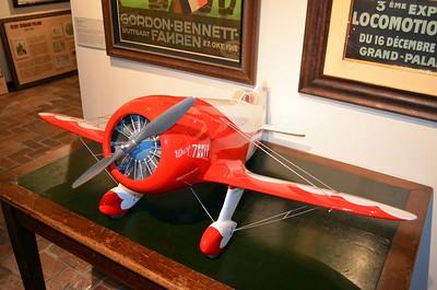 Model of 1930s Racing Plane