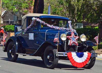 One of San Diego Model A Vehicles