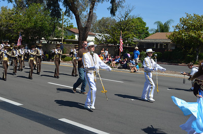 Serra Band marching