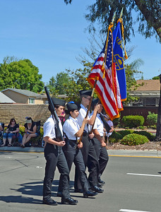 Serra ROTC Color Guard