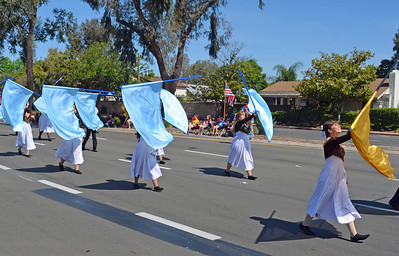 A Flag Dance Group