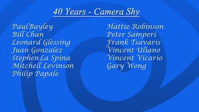 Shy List 40