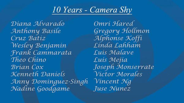 Shy List 10 A
