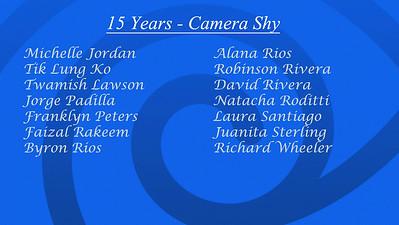 Shy List 15 B