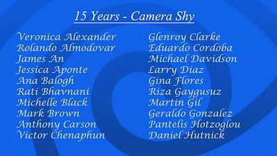 Shy List 15 A