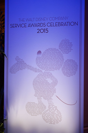 20151105D_Disney_227 - The Walt Disney Service Awards, Los Angeles 2015 - The holder of this digital file has permission to print or publish for his or her own private use.