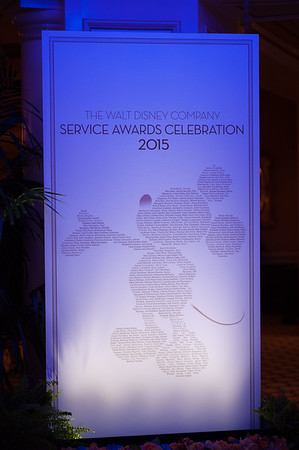 20151105D_Disney_226 - The Walt Disney Service Awards, Los Angeles 2015 - The holder of this digital file has permission to print or publish for his or her own private use.