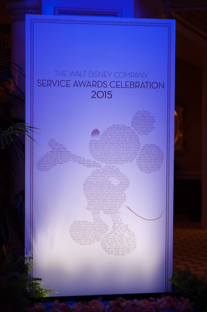 20151105D_Disney_225 - The Walt Disney Service Awards, Los Angeles 2015 - The holder of this digital file has permission to print or publish for his or her own private use.
