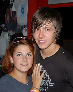 Stacie with Seth Bolt from NEEDTOBREATHE