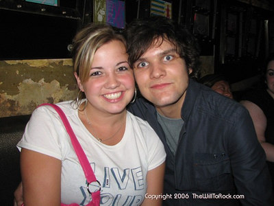 Meghan and Martin (Boys Like Girls)