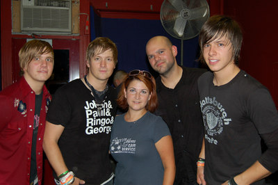 Stacie with NEEDTOBREATHE