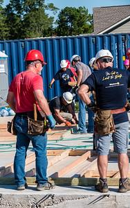 Don Rueter - Habitat Wall Build DR-16