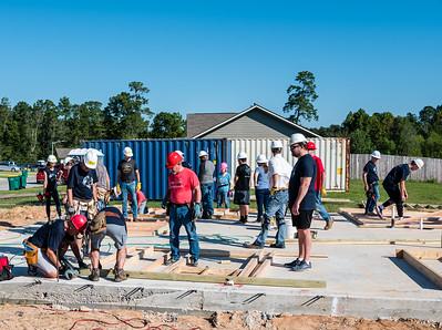 Don Rueter - Habitat Wall Build DR-13