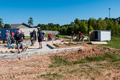 Don Rueter - Habitat Wall Build DR-17