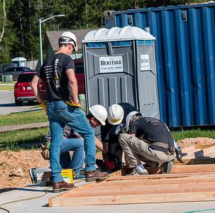 Don Rueter - Habitat Wall Build DR-19