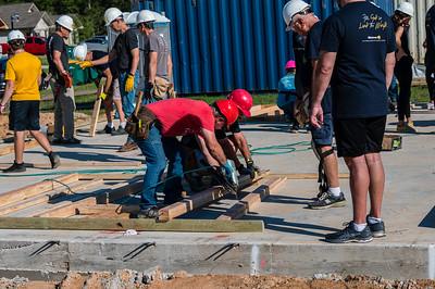 Don Rueter - Habitat Wall Build DR-7