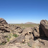 Up on one of the Hueco Tanks mountains.