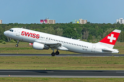 Swiss Airbus A320-214 HB-IJD 5-24-19