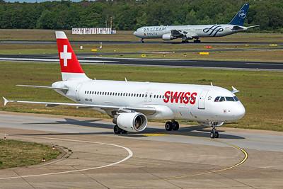 Swiss Airbus A320-214 HB-IJQ 5-24-19