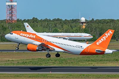 easyJet Airbus A320-214 G-EZTB 5-24-19
