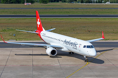 Helvetic Airways Embraer ERJ-190-100 LR HB-JVM 5-23-19