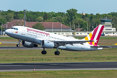 Eurowings Airbus A319-112 D-AKNP 5-24-19